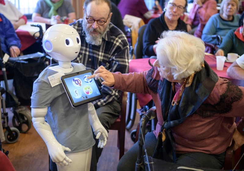 Meet the AI Robots Helping Take Care of Elderly Patients