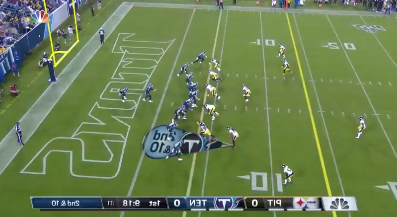Sports: NFL fans immediately ripped NBC's weird camera angle