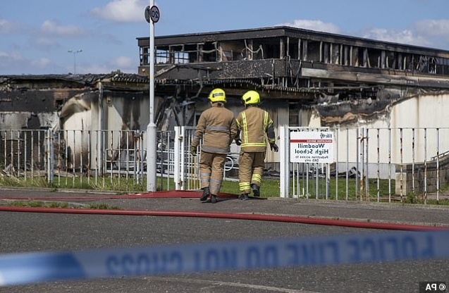 UK News: Boy, 14, is charged after devastating blaze rips