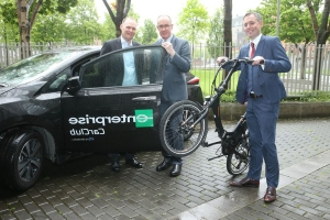 Dublin City Council employees will have access to electric cars and e-bikes under new scheme