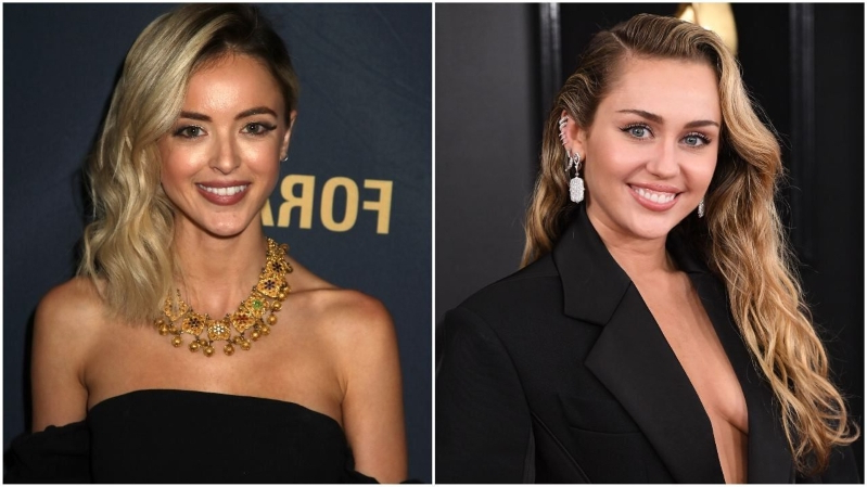 Miley Cyrus and Kaitlynn Carter Pack on the PDA at MTV VMAs Following Singer's Split From Liam Hemsworth