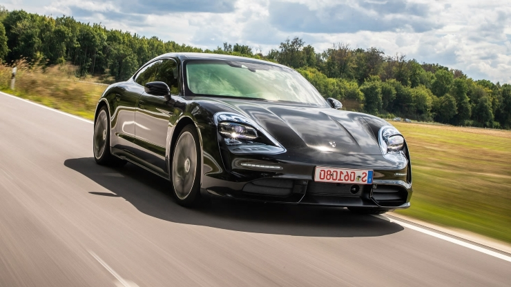 Reviews: 2020 Porsche Taycan EV Review: We Drive the Tesla