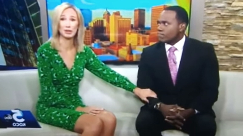 US News: A black TV host's co-anchor compared him to a