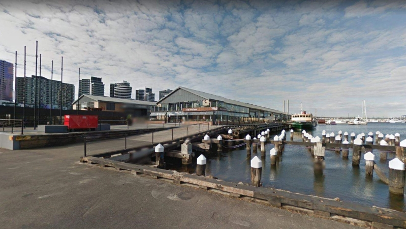 Australia: Central Pier in Melbourne's Docklands vacated