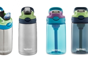 Contigo Kids Cleanable Water Bottles recalled due to choking hazard