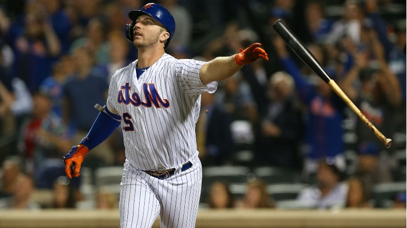 Pete Alonso reflects on breaking Mets' single-season home run record