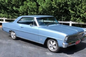 This 1966 Chevy II Nova Sport Coupe Is An Unrestored Time Capsule