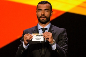 Ashley Cole struggles to pronounce team names and fans joke Manchester United being placed in Group L is a 'match made in heaven' as social media reacts to Europa League draw