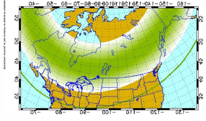 Northern lights to be visible in southern Canada, northern U.S. this weekend