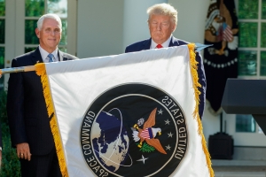 Trump Marks Start of Space Command to Counter Russia, China