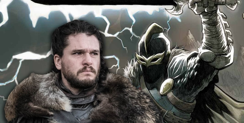 How Kit Harington's Black Knight character fits into Marvel's The Eternals movie