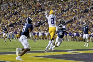 Burrow throws for 5 TDs, No. 6 LSU routs Ga. Southern 55-3