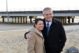 Scott Morrison reveals the one person his wife Jenny would be star-struck in front of - after she became political BFFs with Melania Trump