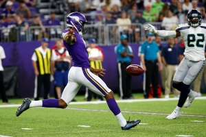 Vikings cut K Kaare Vedvik only weeks after trading for him