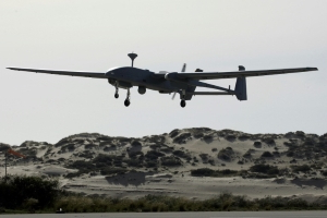 On Israel's borders, drone rivalries play out