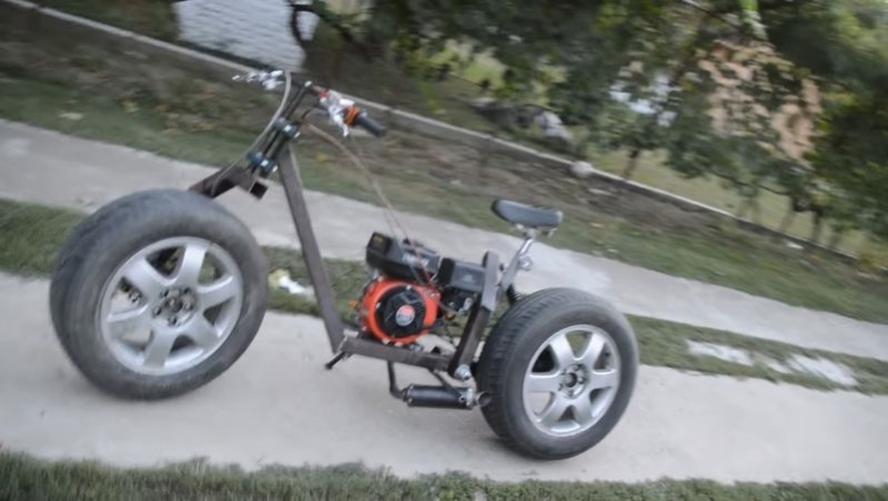 Build A Motorcycle From The Scraps Laying Around Your Garage