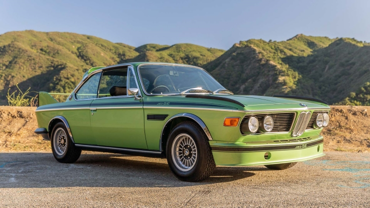Green with envy? Rare 1974 BMW Batmobile is up for auction