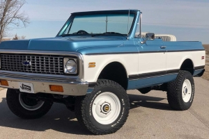 1972 Chevrolet K5 Blazer Is A Perfect Resto-Mod Off-Roader