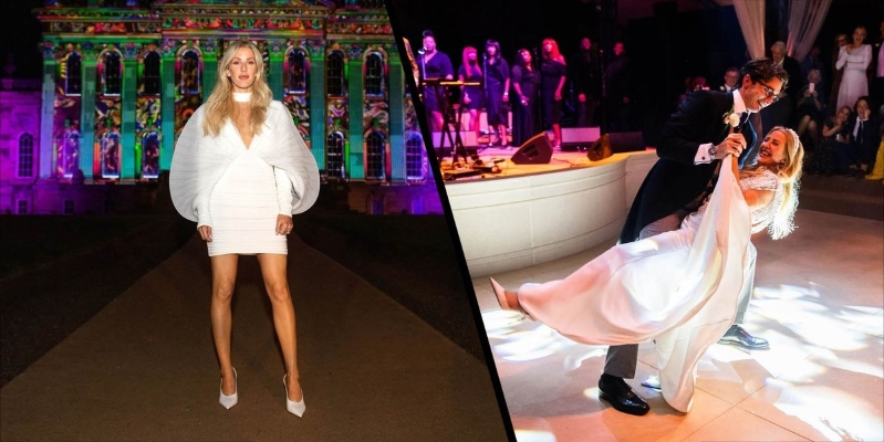 Ellie Goulding reveals her third and fourth wedding dresses