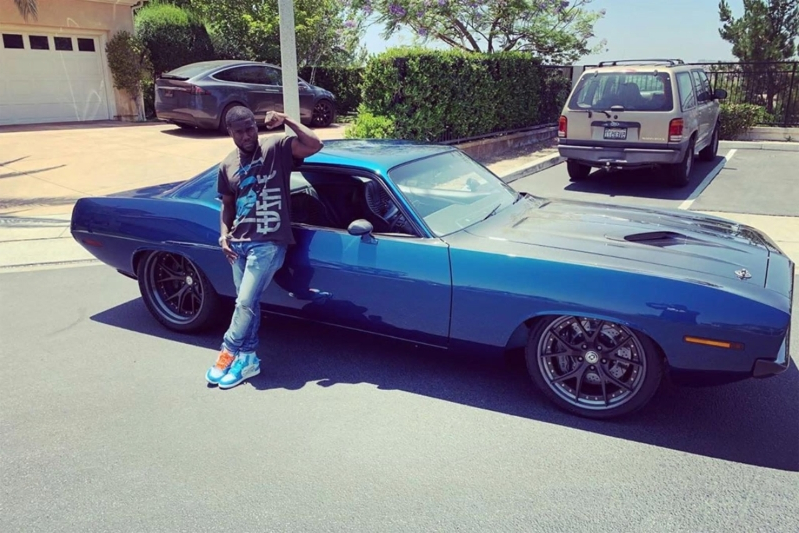 "Kevin Hart's Wrecked Car was Speedkore's 1970 ""Menace"" 'Cuda."