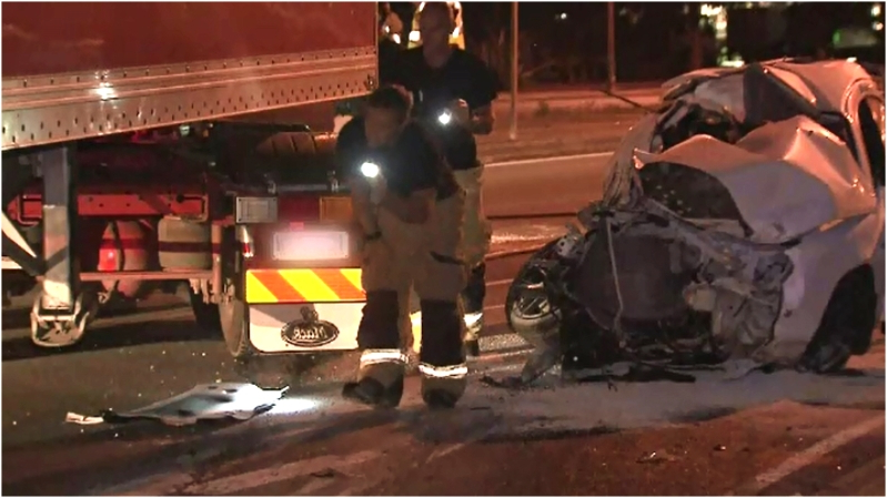P-plater killed in head-on crash with truck