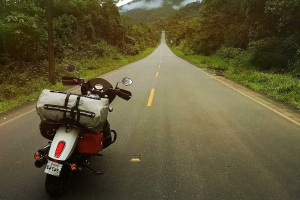 Riding An Indian Scout Sixty Into The Heart Of The Incas