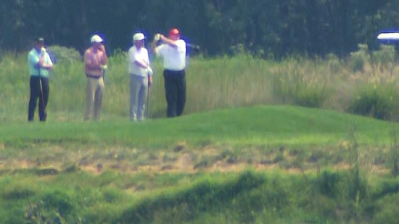 Why Donald Trump golfing during Hurricane Dorian is a problem