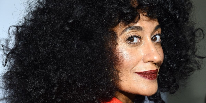 Here's Tracee Ellis Ross Wearing Nothing But Her Curls to Promote Her New Haircare Line