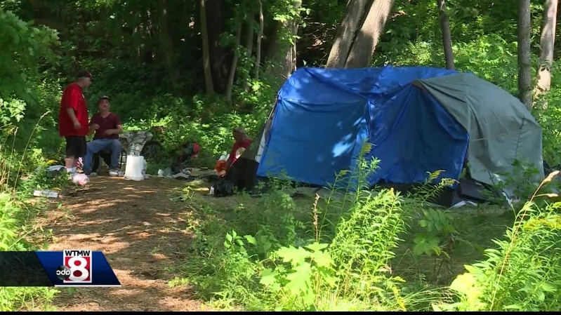 Crime: People who leave donations at homeless camps face