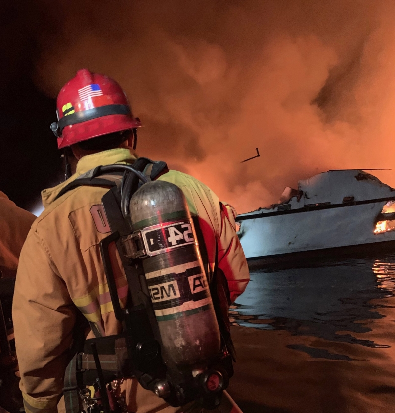 Probe to find cause of boat fire could lead to criminal case