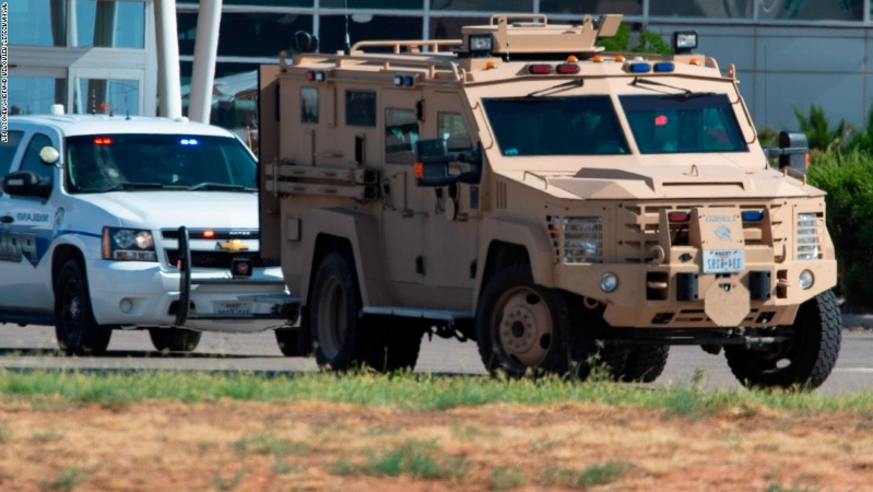 US: West Texas shooter failed background check after being