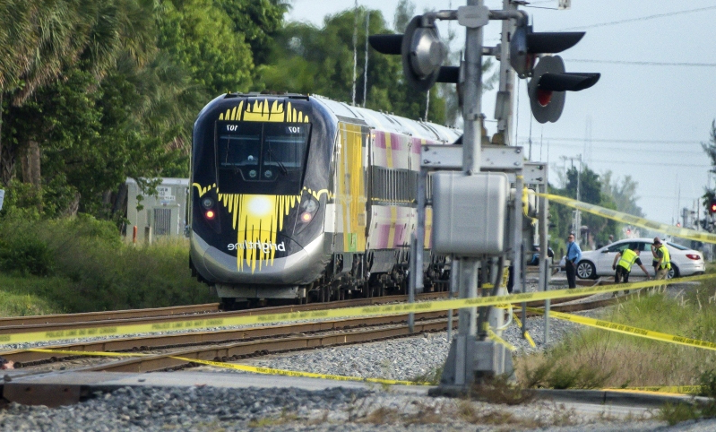 Woman fatally hit by Brightline train in Delray