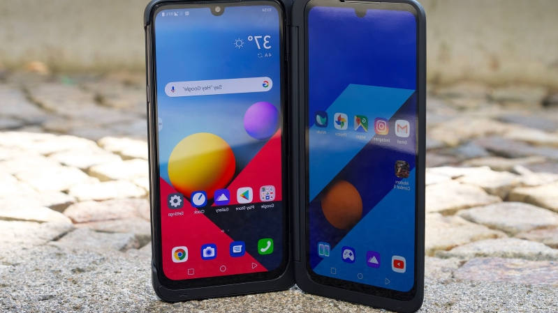 Money: LG's new G8X ThinQ bets that two screens are better