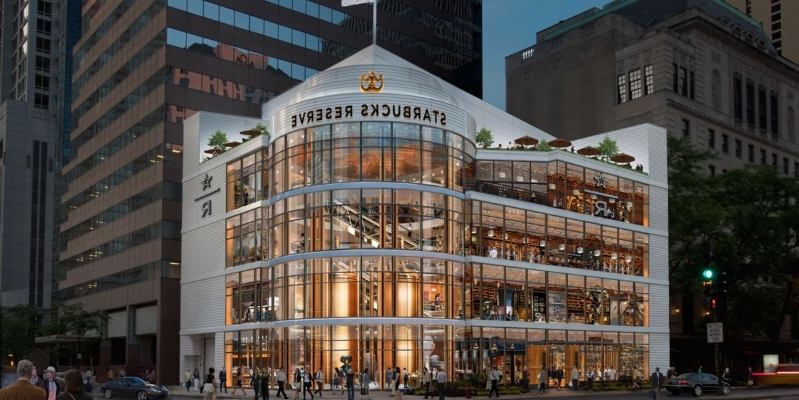 The World's Largest Starbucks Is Opening In Chicago This Fall And It Looks Gorgeous