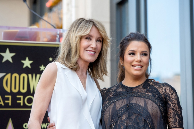 Entertainment: Felicity Huffman plea: Eva Longoria defends