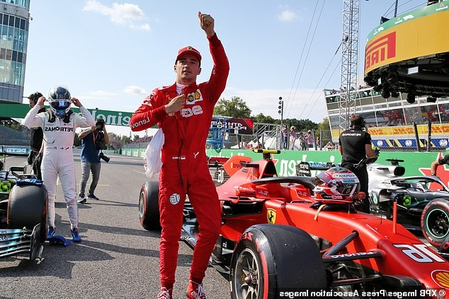 Madness at Monza! Charles Leclerc takes pole position for Italian Grand Prix from Lewis Hamilton... but final runs turn into shambles as most drivers miss out on setting another lap