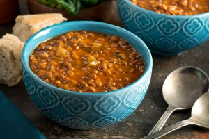 The Protein-Packed Lentil Soup You Need to Try Right Now