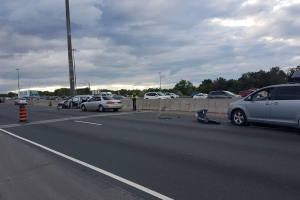 86-year-old woman dead after four-vehicle crash on Highway 401