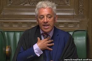 Boris Johnson tells John Bercow, 'You're out!': Tories will oust 'biased' Commons Speaker after he ripped up the rulebook and helped block Brexit