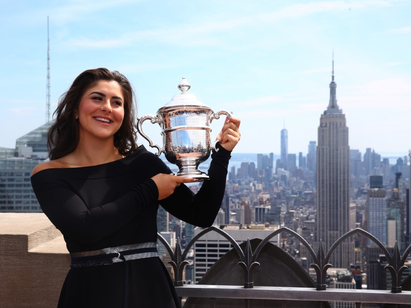 Scott Stinson: Bianca Andreescu, teenager, champion, and remarkable Canadian success story