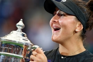 Bianca Andreescu rises to 5th in world tennis rankings after U.S. Open win