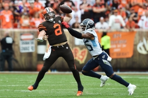 Cleveland Browns, Baker Mayfield, OBJ flop in opener against Tennessee