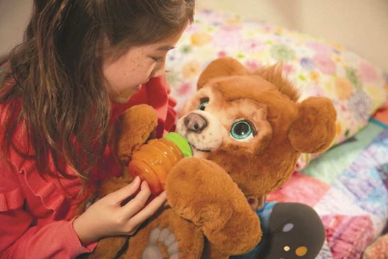 Technology: Enter to win* a FurReal Cubby plush toy
