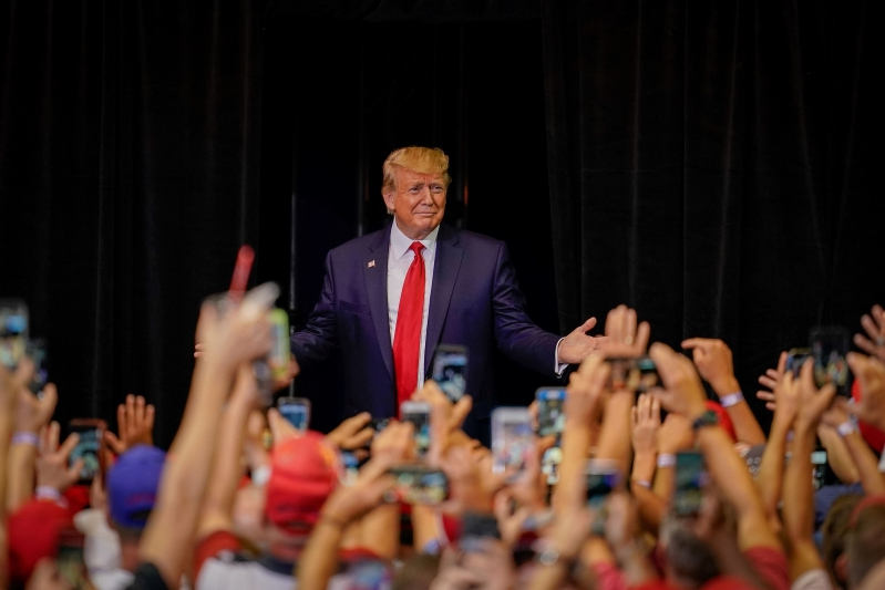 Trump, with eye on 2020, seeks to bolster North Carolina Republican