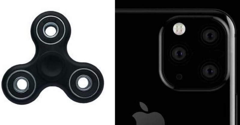 Apple iPhone 11 looks like it has a fidget spinner, according to memes