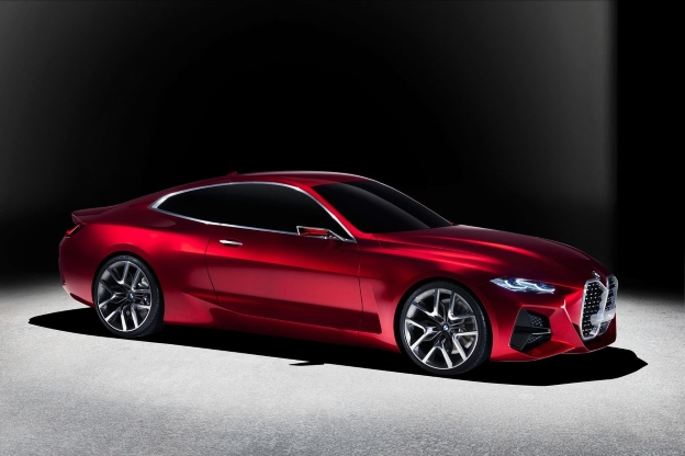 BMW Concept 4, Crazy Grille and All, Sets Stage for Next 4-Series