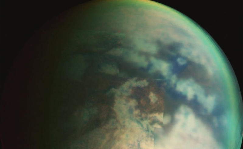 Explosions may be responsible for the bizarre lakes on Saturn's Titan
