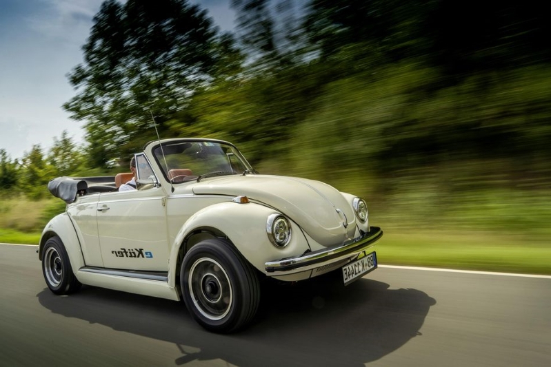 Fully electric Volkswagen E-Beetle molds classic looks and new-age power