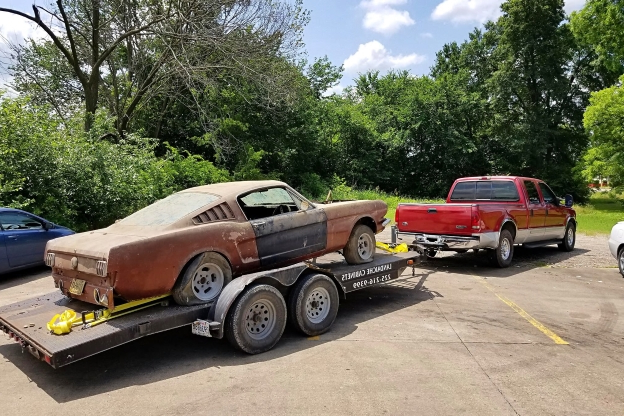 Handshake Deal For a K-Code Mustang Barn Find