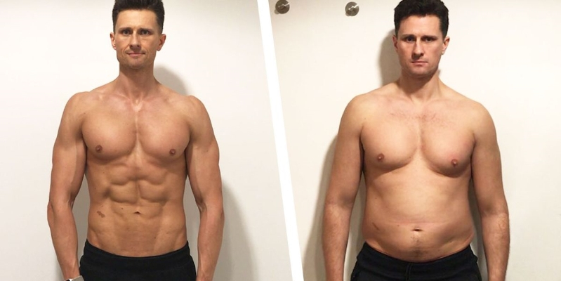 How This Guy Lost 40 Pounds and Got Shredded for His 40th Birthday